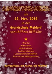 """Weihnachtssingen und """"Adventszauber"""" in der Grundschule Meldorf"""