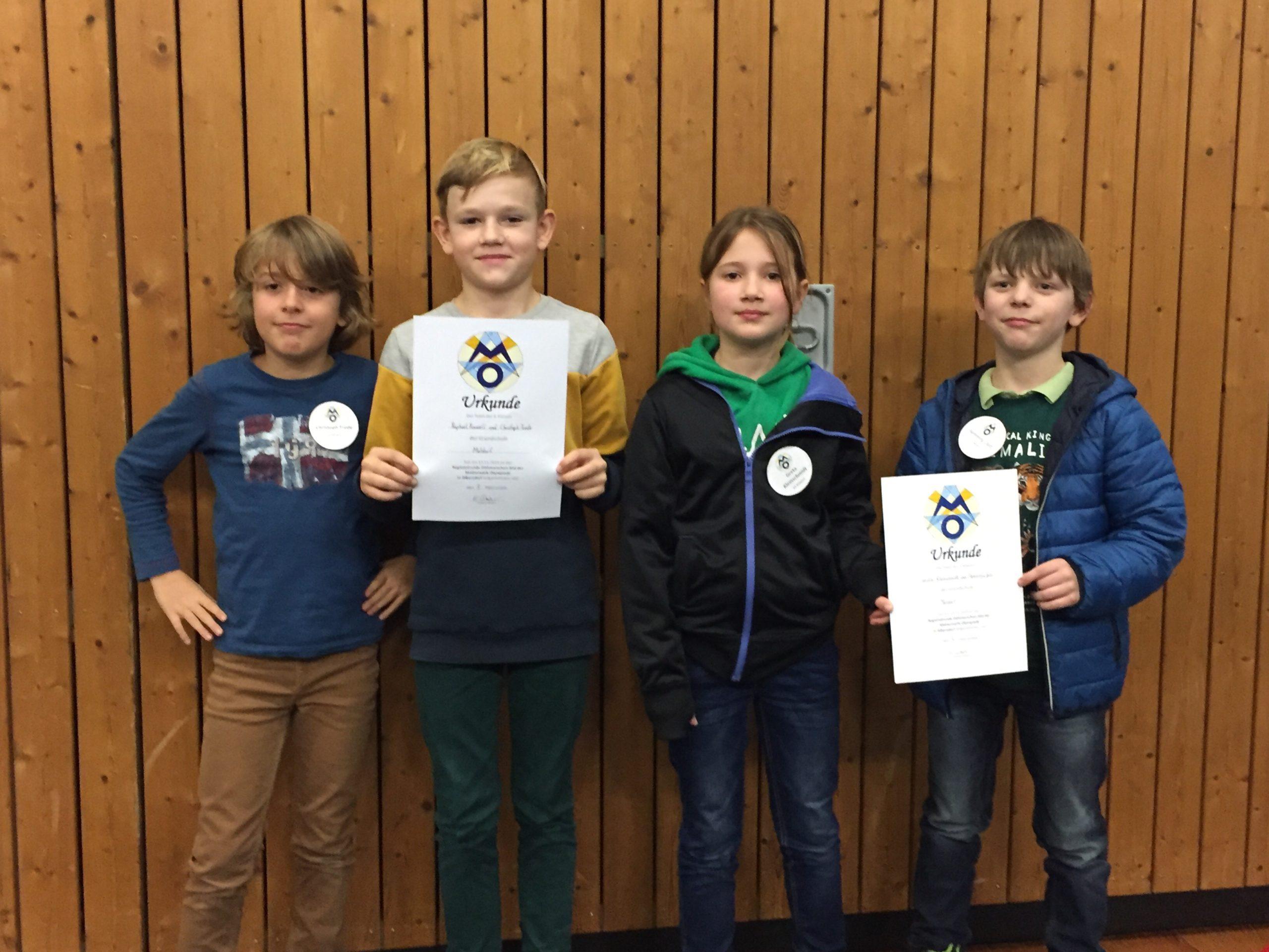 Matheolympiade 2019  in Albersdorf