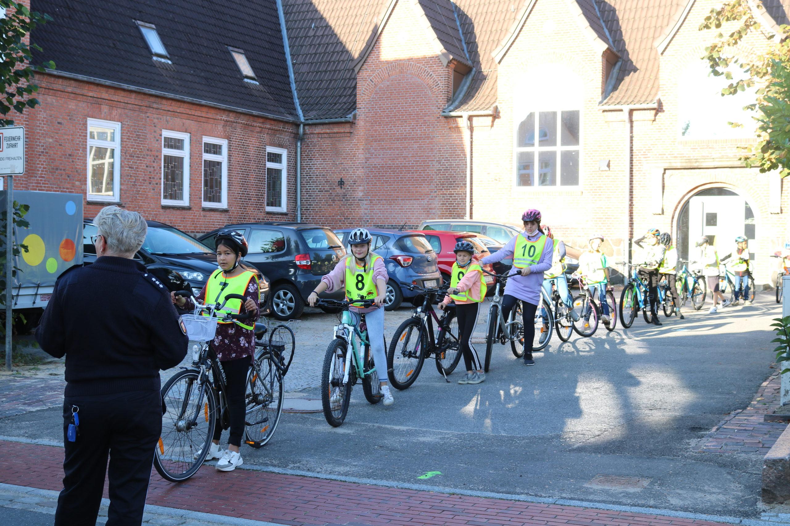 Fahrradprüfung 2021 Klassenstufe 4